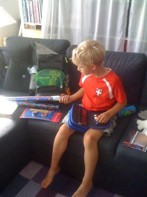 Oskars nye taske