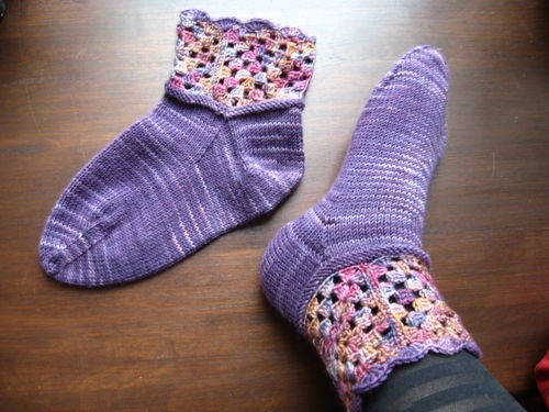 Granddaughter socks