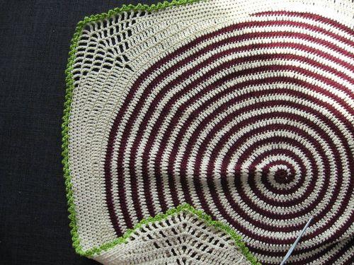 spiral babytæppe til neonatal