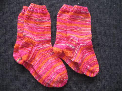 Anna og Sofie sokker