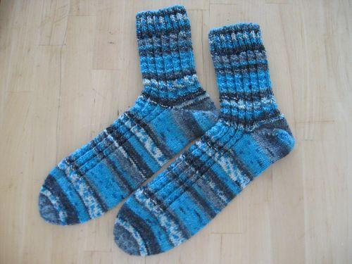 Fies blå sokker